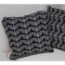 Black and White Vine Pillow