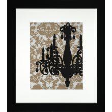 Chandelier Silhouette I 28W x 32H
