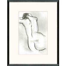 Nude in Charcoal III 23W x 30H