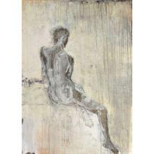 Noir Nude I 36W x 50H