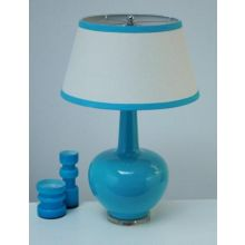 Porcelain Turquoise Table Lamp