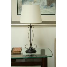 Clarksville Oil-rubbed Bronze Table Lamp