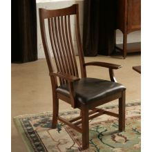 Grove Park Mission Style Spindle Back Arm Chair