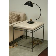 Mitchell Gold Decker Side Table