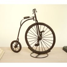 Bronze Penny Farthing Bicycle Sculpture