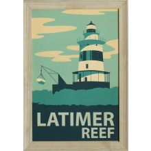 Latimer Reef 19W x 27H