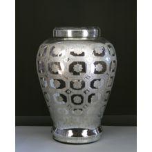 Mercury Glass Urn
