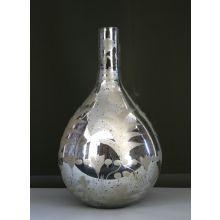 Tall Mercury Glass Vase